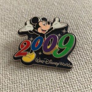 Walt Disney World 2009 pin